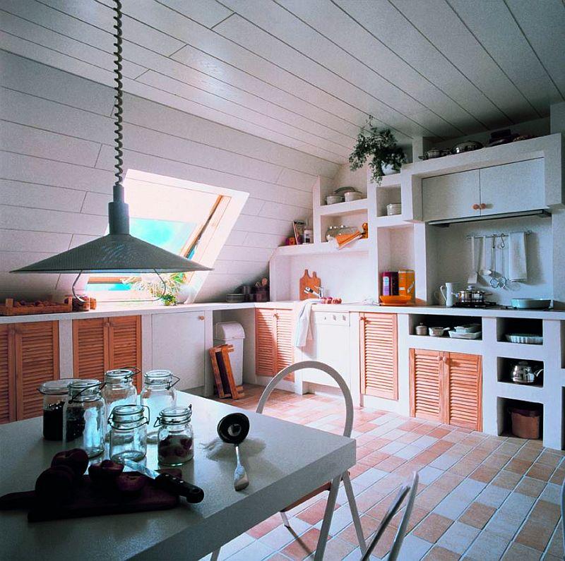 adelaparvu.com despre mobilier fix din BCA, mese insula, rafturi, pereti despartiotori, semineuri cu Ytong Design (14)