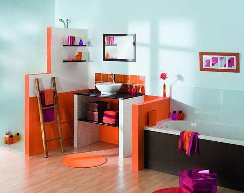 adelaparvu.com despre mobilier fix din BCA, mese insula, rafturi, pereti despartiotori, semineuri cu Ytong Design (3)