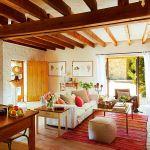 adelaparvu.com hambar transformat intr-o casa rustica, living rustic, arhitect Lluis Auquer, Foto ElMueble (5)