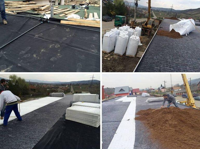Etapele de izolare si hidroizolare a acoperisului verde
