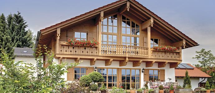 chiar frumoas casa asta din lemn n stil bavarez adela p rvu jurnalist home garden. Black Bedroom Furniture Sets. Home Design Ideas