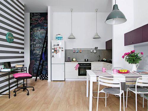 adelaparvu.com amenajare apartament doua camere, 43 mp, design interior Hokum, Foto  Cztery Kąty (5)
