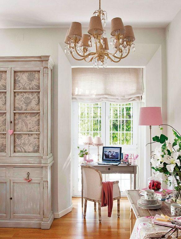 adelaparvu.com despre apartament romantic, amenajare in stil provensal, Foto ElMueble (2)