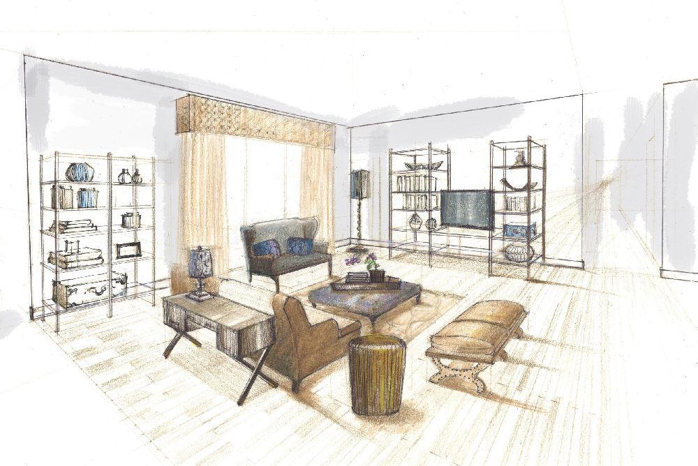 adelaparvu.com despre cum se lucreaza cu un designer de interior si cat costa, Proiectul (2)