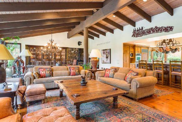 adelaparvu.com despre casa cu stiluri combinate rustic, calsic si modern, casa SUA Foto Realogics Sotheby's International Realty (6)