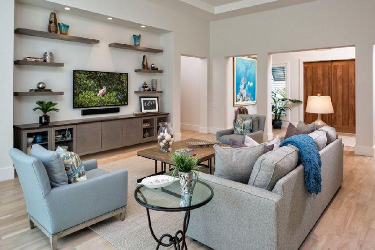 Foto 41 West televizorul în cameră Unde se pune televizorul în cameră și la ce distanță de canapea sau pat? adelaparvu