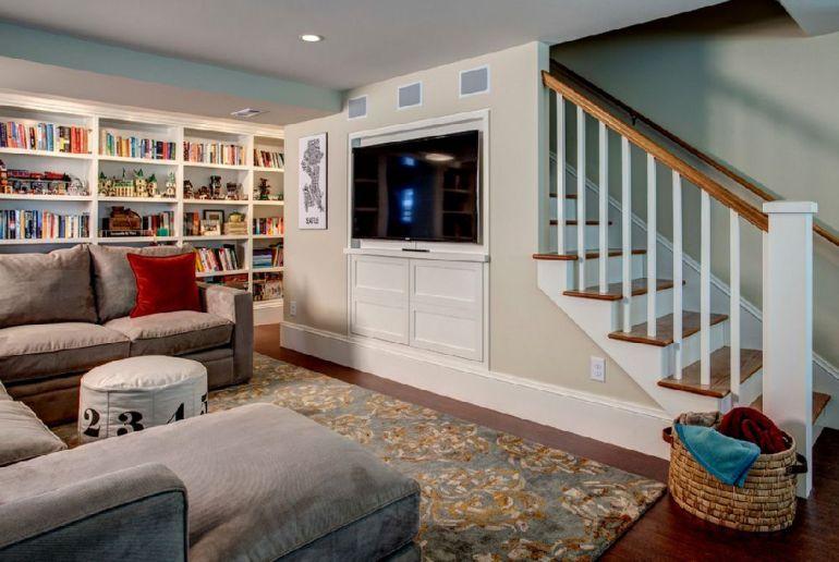 Foto Board and Vellum televizorul în cameră Unde se pune televizorul în cameră și la ce distanță de canapea sau pat? adelaparvu