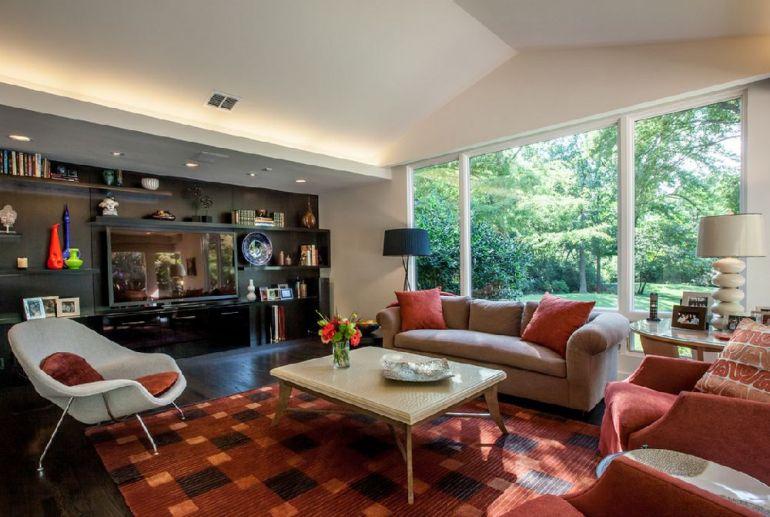 Foto Key Residential televizorul în cameră Unde se pune televizorul în cameră și la ce distanță de canapea sau pat? adelaparvu