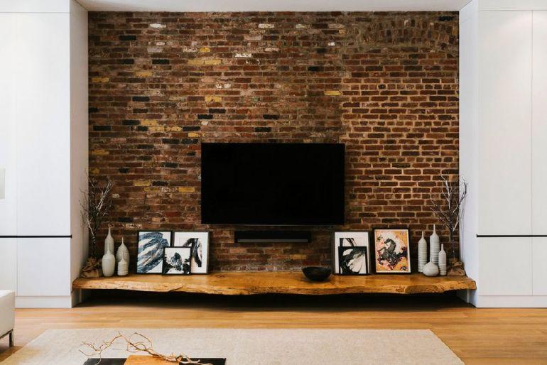 Foto Raad Studio televizorul în cameră Unde se pune televizorul în cameră și la ce distanță de canapea sau pat? adelaparvu