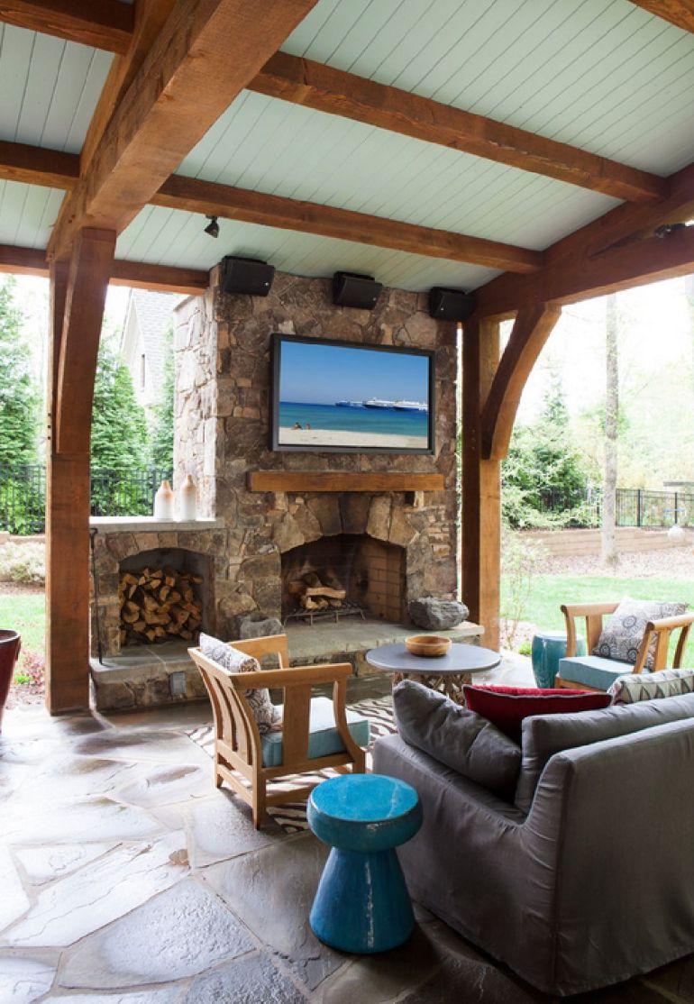Foto The Stone Man televizorul în cameră Unde se pune televizorul în cameră și la ce distanță de canapea sau pat? adelaparvu
