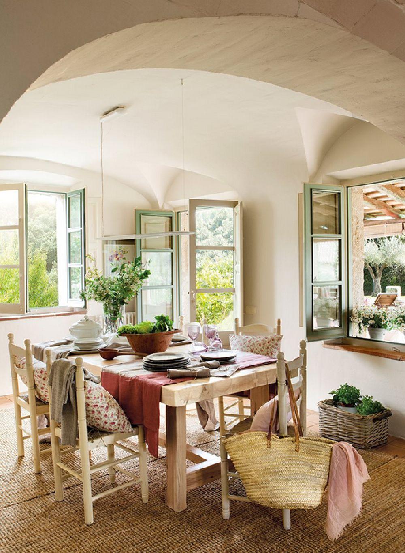 Adelaparvu.com despre casa rustica catalana cu interior elegant decorat design interior gemma mateos foto elmueble 8