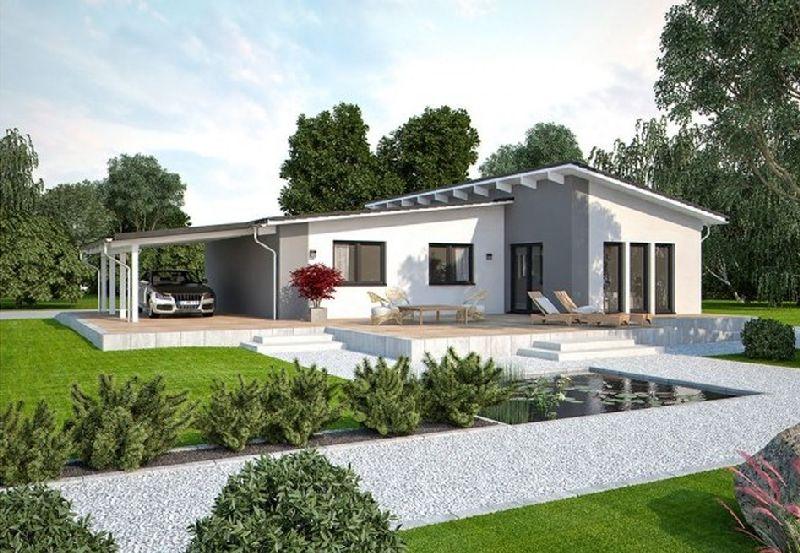 Model casa LIFE 110 L Walmdach, Suprafata 108 mp, 3 camere, Proiect Haus xxl