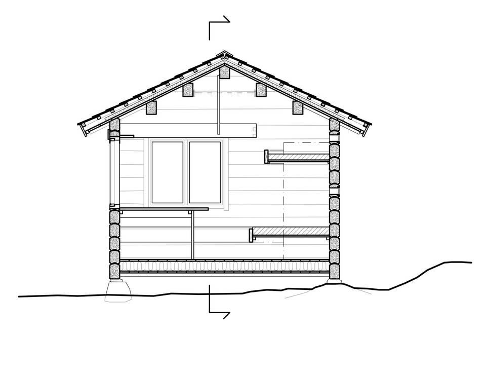 adelaparvu.com despre casa mica de vacanta, 11 mp, arhitectura Bendik Manum si arh Annelise Bjerkan, Foto Bendik Manum (4)