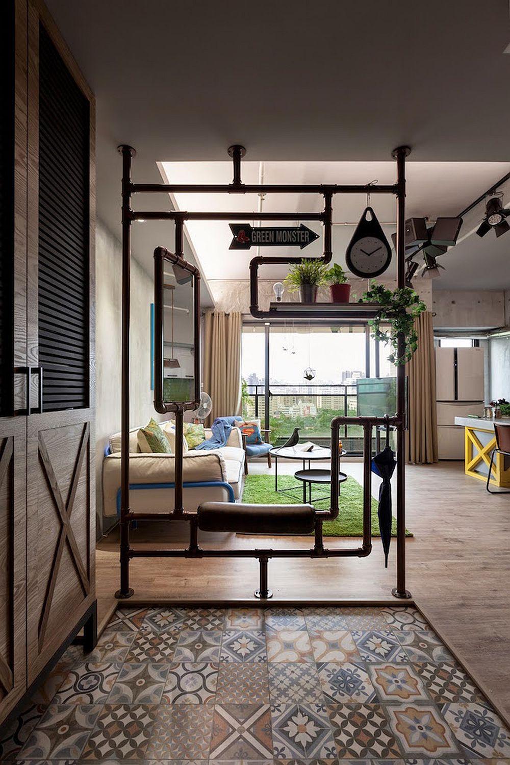 solu ii ingenioase ntr un apartament amenajat n stil industrial adela p rvu jurnalist home. Black Bedroom Furniture Sets. Home Design Ideas