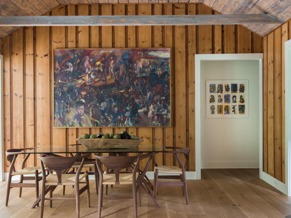 adelaparvu.com despre casa din lemn cu interior rustic actual, Design Kelly Mittleman, arch Mark Finlay, Foto Jane Beiles (29)