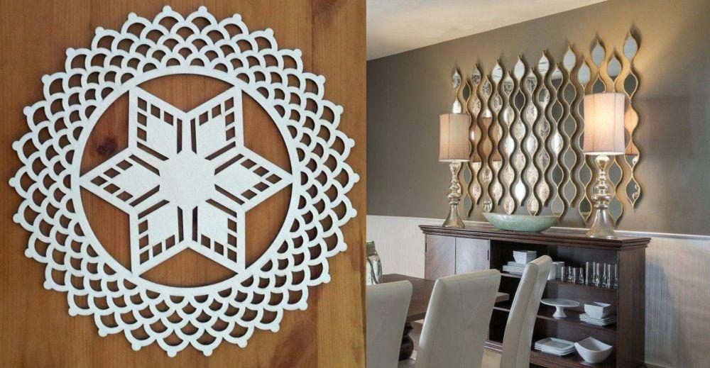 Atelier de obiecte decorative, oglinzi, mic mobilier, ceasuri, toate personalizate la mașina cu laser