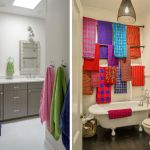 adelaparvu.com despre prosoape ca decoratiuni colorate in baie