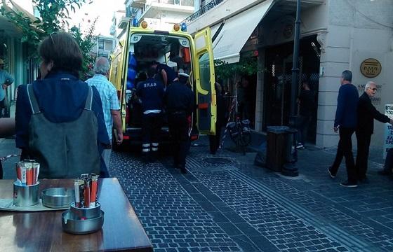 ΠΑΝΙΚΟΣ: Πυροβόλησε τη γυναίκα του στο κέντρο των Χανίων