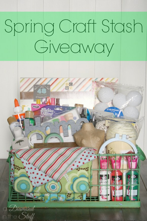Spring Craft Stash Giveaway