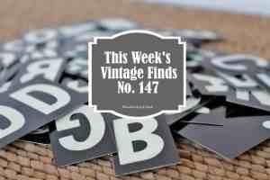 This Week's Vintage Finds #147