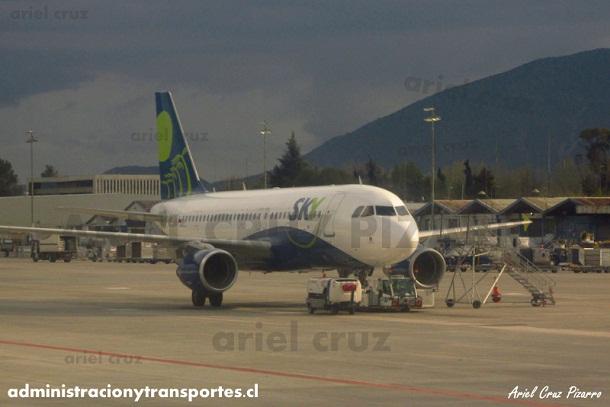 sky airline - ccaic - sky - sky116 - scl - cpo - ccafy