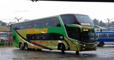 carlos ulloa - bus norte - puerto montt - gdvg30 - 212 - paradiso 1800 dd - cama ejecutivo