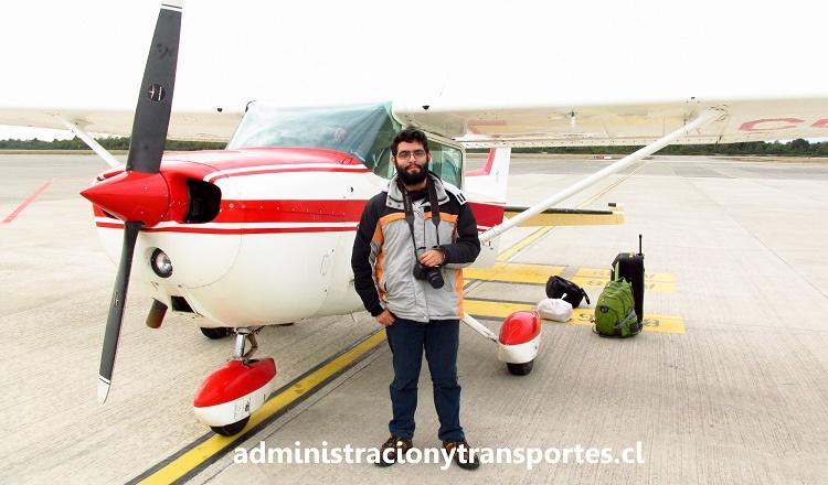 Avioneta Cessna 172N Puerto Montt, Chile