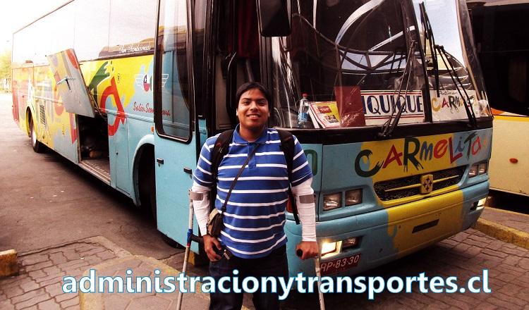 Aficionado de buses, La Serena