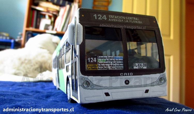 Bus Administración y Transportes CL, Transantiago