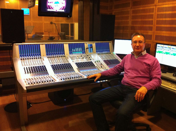 Turkish Radio and Television   Studer Professional Mixing Consoles Studer izmirradio2 1000 email