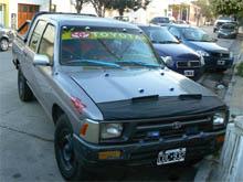 Policía Patagones - Secuestro camioneta