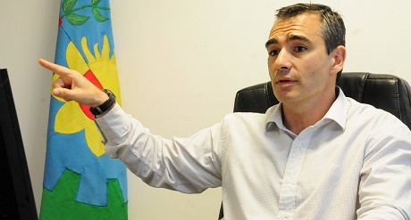 El diputado Marcelo Feliu