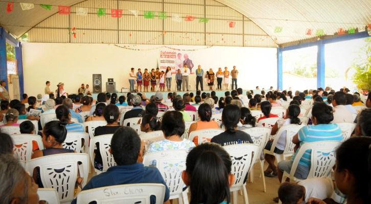Morena construye en la Mixteca, el bien de todos y no el de unos cuantos: Salomón Jara (18:55 h)