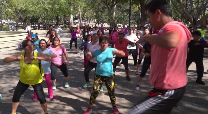 Capacitación en Baile-Fitness por el instructor Benjamín Murillo (17:10 h)