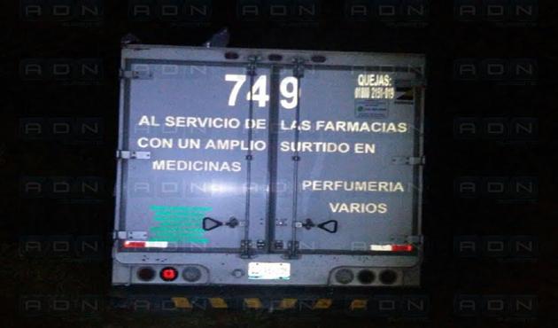 Asaltan camioneta que surtía medicamentos a la zona mazateca (08:35 h)