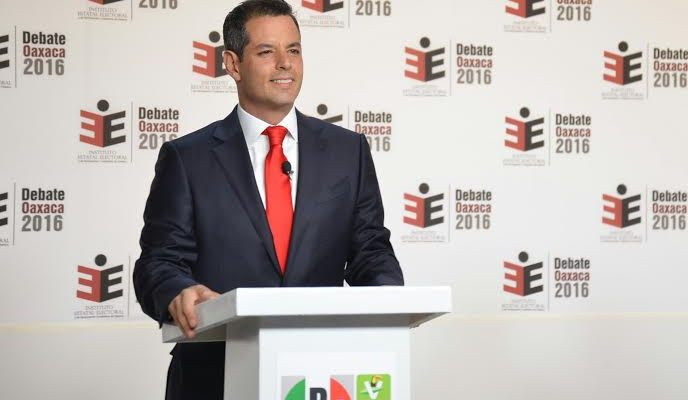 En Oaxaca habrá trabajo, y muy bien pagado: Alejandro Murat en el debate (00:05 h)