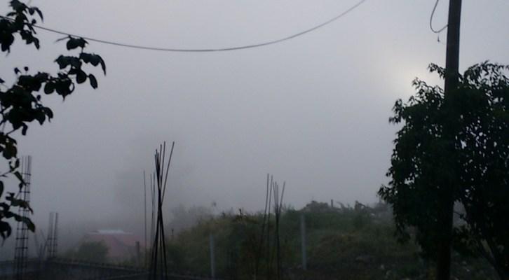 Niebla cubrió municipios conurbados (08:39 h)