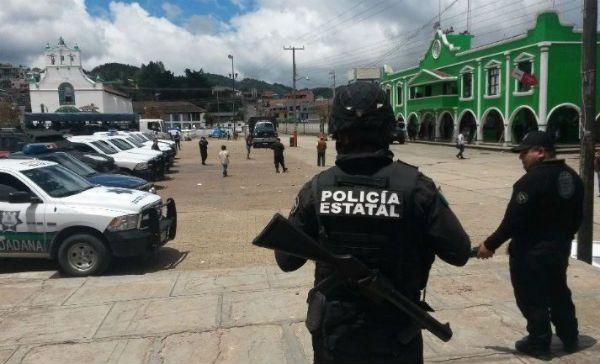 PGJE detiene a seis sujetos relacionados con el homicidio del alcalde de San Juan Chamula (12:11 h)