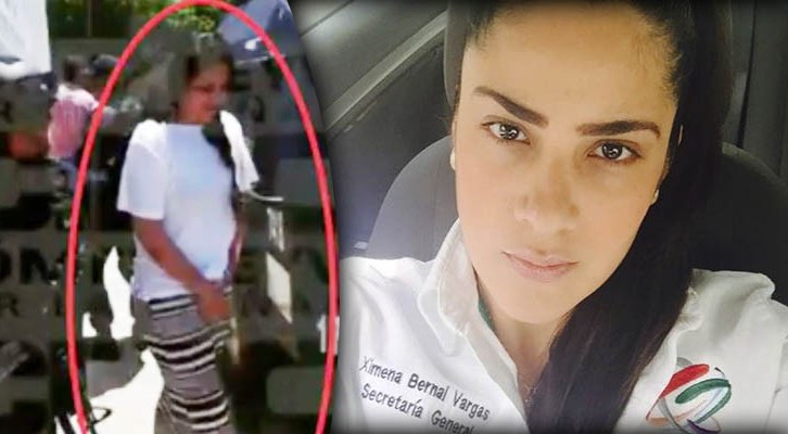 Lideresa juvenil del PRI en Guerrero que también se dedica al trabajo sexual, fue detenida con narcotraficante (20:32 h)
