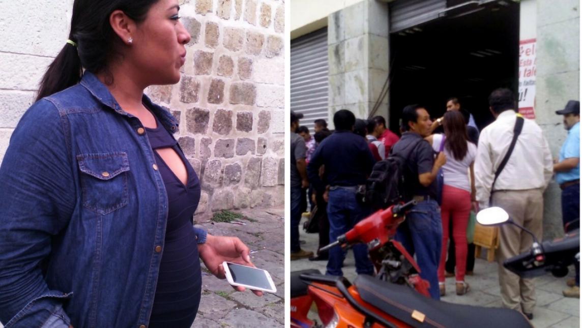 CNDH critica maestros de la CNTE por intimidar a periodista embarazada