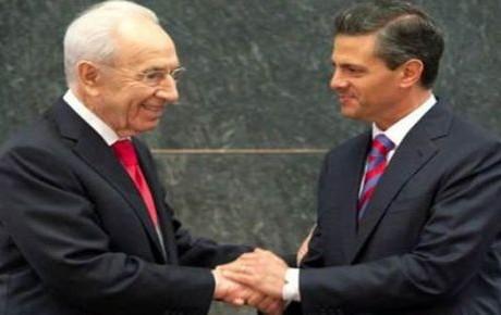 EPN asistirá a funeral de Shimon Peres (17:30 h)