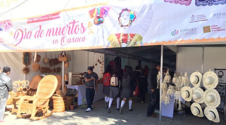 Inauguran Expo Venta Artesanal