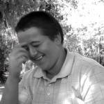 William laughing