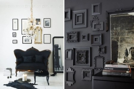black home decorating ideas 13