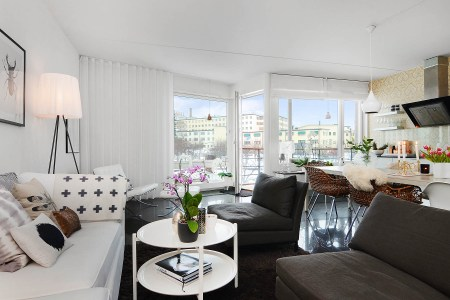 scandinavian apartment interior design 6
