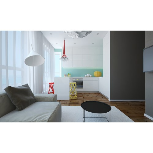 Medium Crop Of Small Modern Apartment