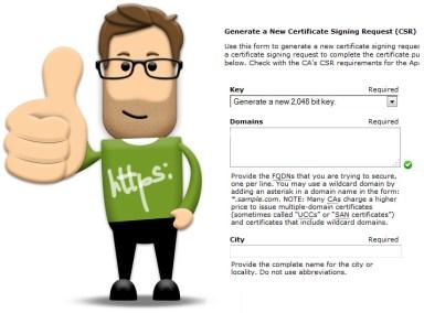 2048 SSL kljuc sertifikat
