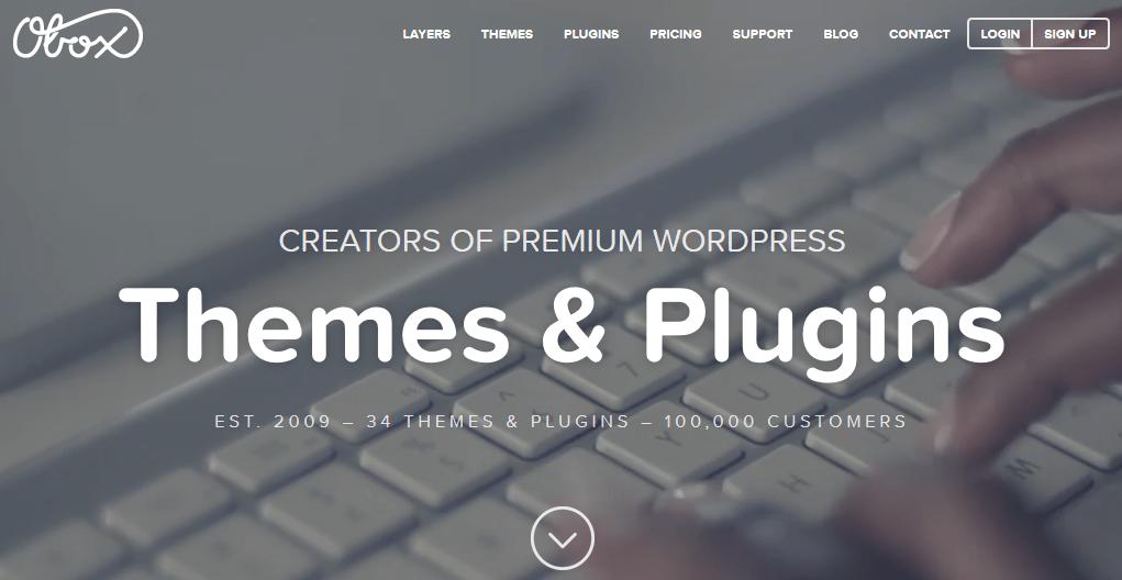 Gde kupiti premium temu za WordPress - Obox