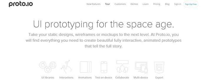 Aplikacije-za-UX-dizajn---Protoio