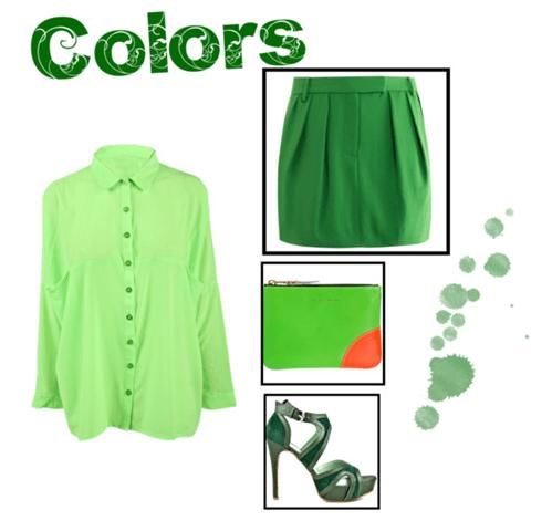verde, green, como usar